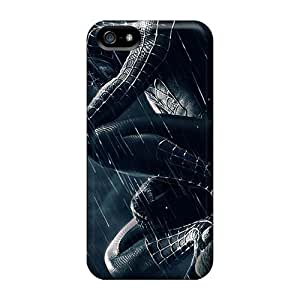 Dana Lindsey Mendez Iphone 5/5s Hybrid Tpu Case Cover Silicon Bumper Spiderman