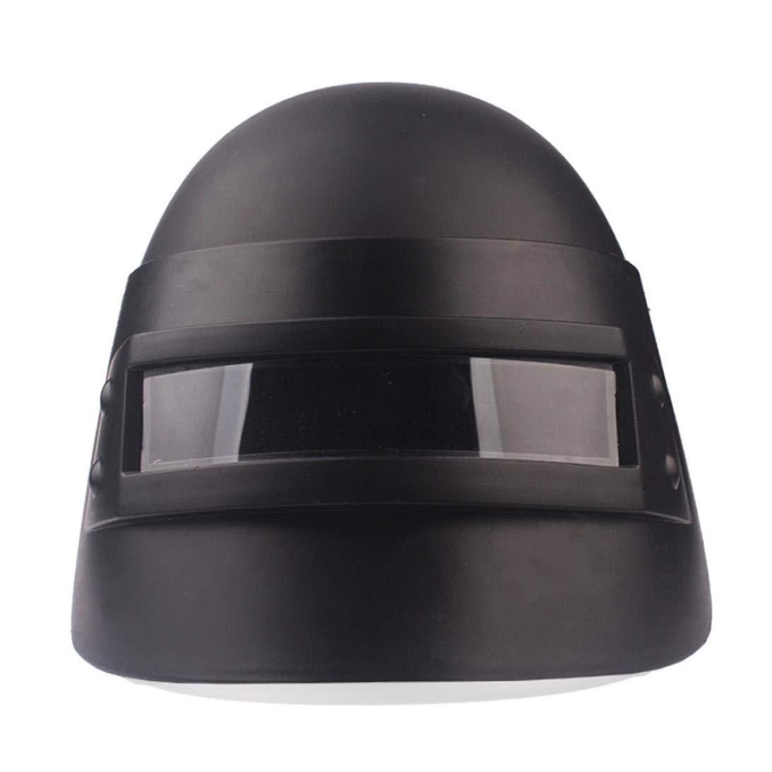 Simulation Battlegrounds Level 3 Helmet Cap Props(25.5x 19x 16cm),123Loop Game Cosplay Mask Battlegrounds Level 3 Helmet Cap Props by 123Loop (Image #7)