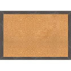 Amanti Art DSW3907813 Cork Board, Extra Large-39 x 27, Gray