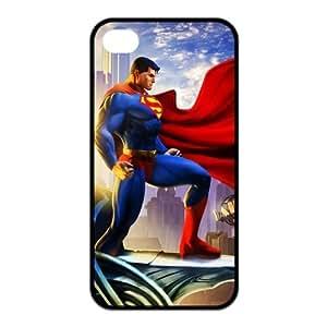Fashion Case 5cS case cover,TPU iPhone 5c Case cover,Superman Design Fashion Pattern Hard Back Cover kZ39sW11lGc Snap on case cover for iPhone 5c / 5cs