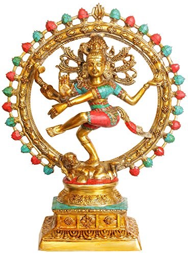 India Exotic India Natararaja Statue Brass Exotic vY7vwEpq4