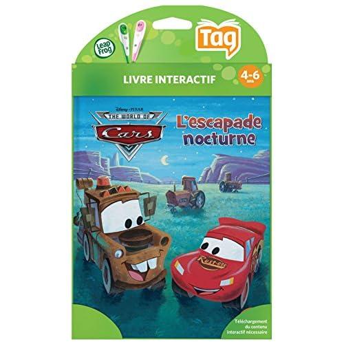 Leapfrog Tag Livre Cars L Escapade Nocturne Disney