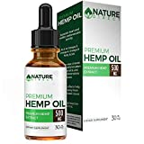 Cheap 500MG Hemp Oil Drops – Enhanced Premium Formula – Peppermint Flavored – All-Natural Ingredients – Promotes Relaxation – 1 Month Supply (30ML) – Nature Direct