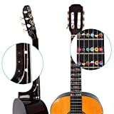 kwmobile Guitar Fretboard Stickers Set - Guitar