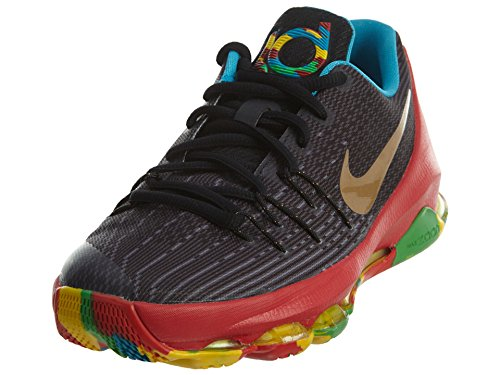 f250298ddc30 Galleon - Nike 768867-002 KD 8 GS Money Ball Multi Color Kids Basketball  Shoes Size 7Y