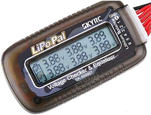 Roshion グッドフォー SKYRC LiPoPal電圧チェッカー自己電圧バランサーSKYRCバッテリー電圧チェッカー用2-