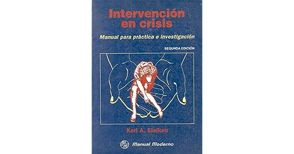 libro de intervencion en crisis karl slaikeu
