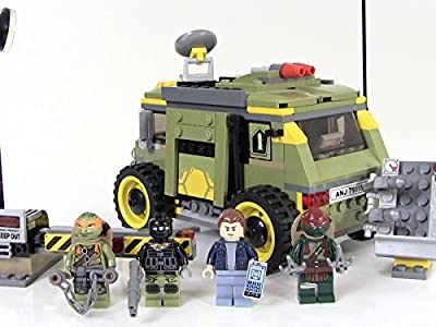 Review: Lego Turtle Van Takedown Review