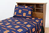 College Covers Syracuse Orange Printed Sheet Set - Twin - Solid