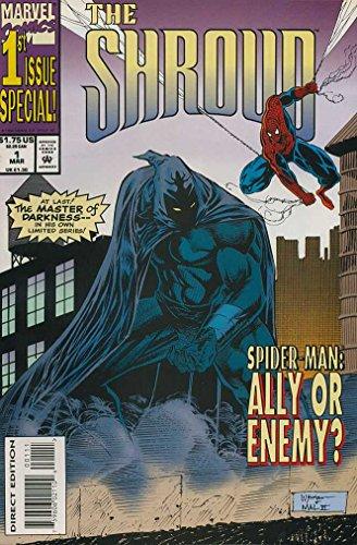 SHROUD 1-4 SPIDERMAN appearance! Complete mini-series!
