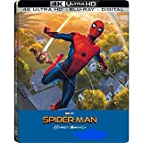 DVD : Spider-Man: Homecoming 4K Exclusive Steelbook (4K Ultra HD+Blu-Ray+Digital)
