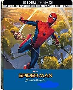 Spider-Man: Homecoming 4K Exclusive Steelbook (4K Ultra HD+Blu-Ray+Digital)