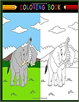 Cute Elephant and Donkey at Election Day coloring page | Free ... | 335x260