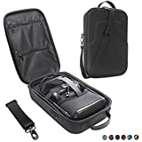 Esimen Fashion Travel Case for Oculus Quest VR Gaming Headset and Quest Controllers Accessories Waterproof Carrying Bag (Black)