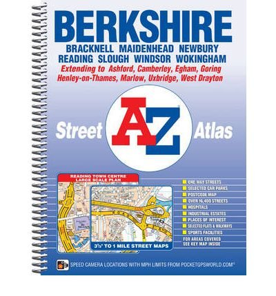 [(Berkshire County Atlas)] [ By (author) Geographers' A-z Map Company ] [January, 2012]