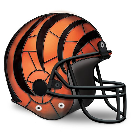 NFL Cincinnati Bengals Accent Lamp by The Bradford Exchange