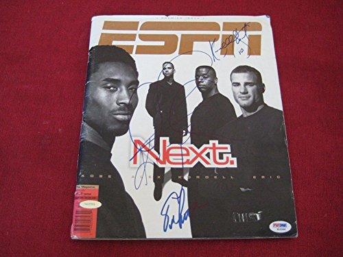 - Kobe Bryant Alex Rodriguez Eric Lindros Autographed Signed Espn Magazine PSA/DNA