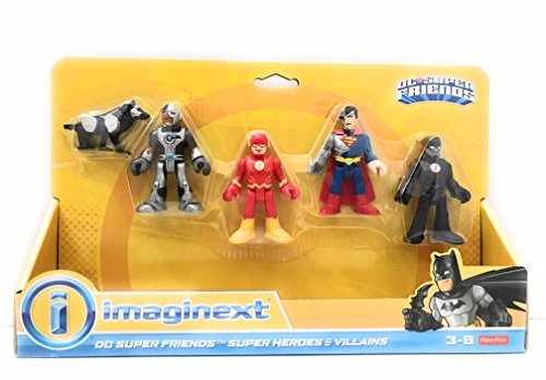 Imaginext DC Super Friends Super Heroes & -