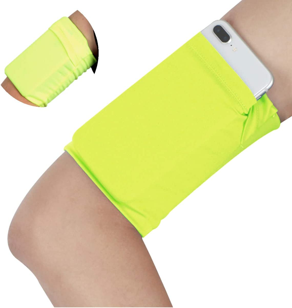 Holder Pouch Armband Sport Gym Mobile Phone Money Outdoor Running Wrist Arm Bag