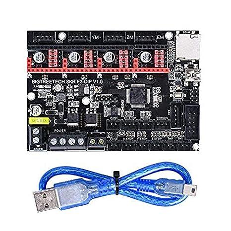 CUHAWUDBA Impresora 3D Pieza SKR E3 Dip V1.0 Tablero de Control de ...