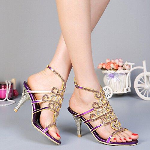 ZQ dedo del pie en punta zapatos planos de las mujeres de color ocasional; marrón / rojo / beige / negro / blanco , white-us8 / eu39 / uk6 / cn39 , white-us8 / eu39 / uk6 / cn39