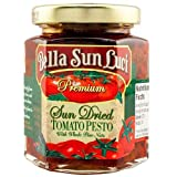 Bella Sun Luci Sun Dried Tomato Pesto with Whole Pine Nuts, 251ml