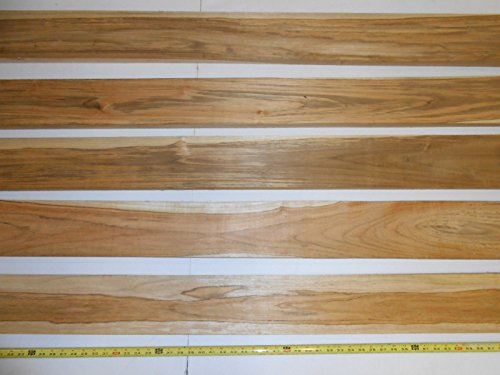 10 square feet of 3/4 inch thick, PLANED TEAK WOOD at least 60 inches long by Diamond Tropical Hardwoods