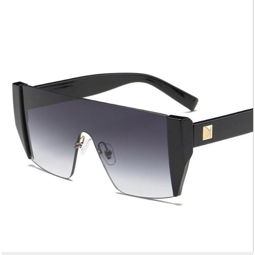 Gafas de sol con espejo vintage para lente cuadrada sin ...