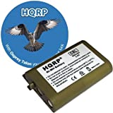 HQRP Phone Battery for ATandT / Lucent EP5922, EP5962, EP5995, EP562, TL76008, TL76108 Cordless Telephone plus Coaster, Office Central