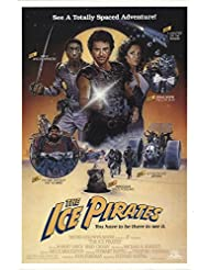 "Ice Pirates 1984 Authentic 27"" x 41"" Original Movie Poster Rolled Fine, Very Fine Anjelica Huston Sci-Fi U.S. One Sheet"