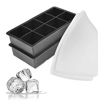6 x Eiswürfelformer Eiswürfel Zubereiter Eiswürfelbehälter Eiswürfel herstellen