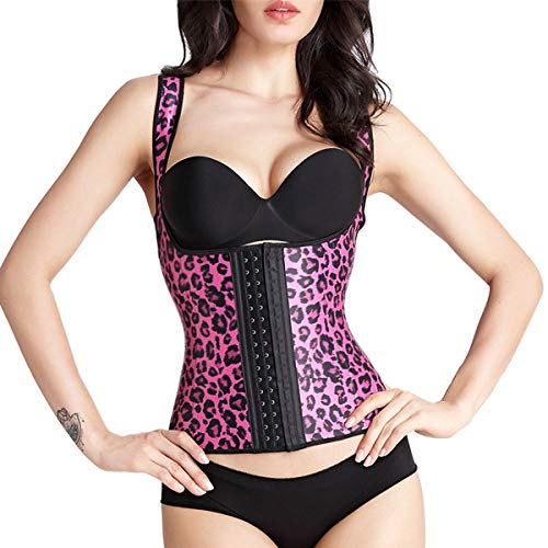 42f72f59e8112 LKITZZ Pink Leopard Vest