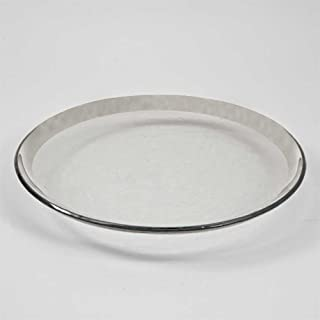 product image for Annieglass 12 Inch Buffet Plate - Roman Antique (Platinum)