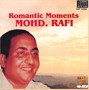 Romantic Moments: Mohd. Rafi - CD(indian/bollywood movie/hit songs/collection of songs,romantic,emotional songs/Rafi)