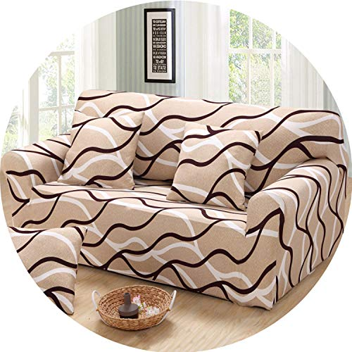I'm good at you Elastic Spandex Sofa Cover Tight Wrap All-Inclusive Couch Covers for Living Room Sectional Sofa Cover Love Seat Patio Furniture,Color 15,2-Seater 145-185cm (Furniture Sectional Patio Costco)