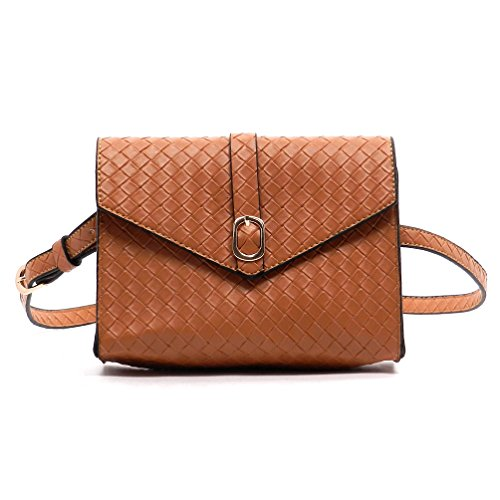 Rodeo No. 199 Saddle Style Waste Travel Penny Clutch Bag (Sand)