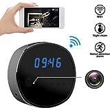 Wifi Hidden Camera Spy mini Cameras Clock HD 1080P Security Cam IR Night Vision Motion Detector Loop Recording for Home Surveillance