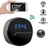 Best IP Camera With IR Nights - Wifi Hidden Camera Spy mini Cameras Clock HD Review