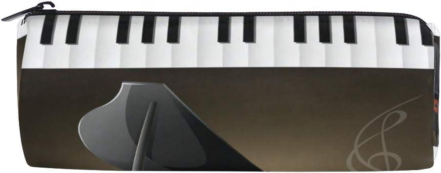 Gran Piano con teclados, notas musicales, estuche para ...