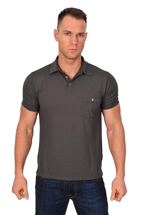 Zanone Polo Poloshirt Herren Braun Regular Fit Baumwolle Casual 52:  Amazon.de: Bekleidung