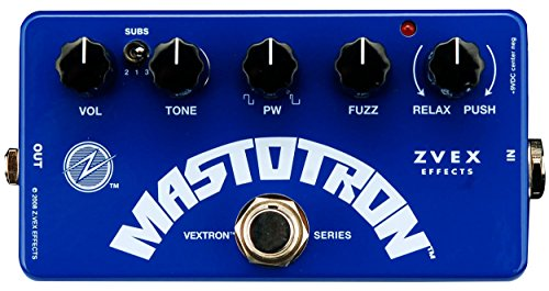 ZVEX Effects Mastotron Vextron Series Silicon Fuzz Guitar Pedal from Zvex