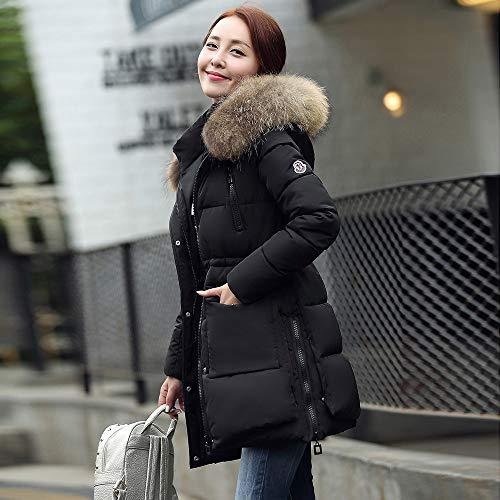 Coton Slim Noir Manteau Yvelands Warm Winter Capuche Jacket Survêtement À Femme Rembourré wZ0aq