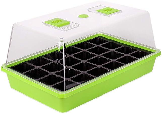 Schramm® vivero de Interior Caja de 1, 2 o 3 Piezas 38x24x18 cm Mini Conjunto