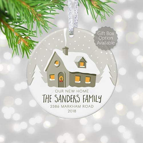Unique Gifts For Christmas 2019: Amazon.com: New House Christmas Ornament 2019, 1st
