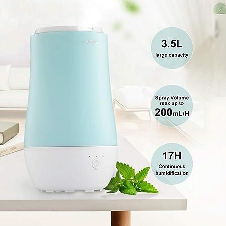 Luftbefeuchter Schlafzimmer, KEYNICE 3.5L Ultraschall Vernebler ...