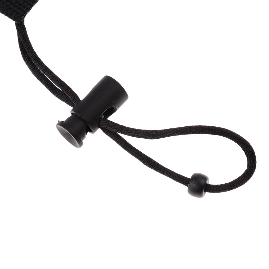MagiDeal Diving Scuba Double Hose Holder with Clip Underwater Lights Camera Quick Release Coil Lanyard with Strap Clip /& Ring