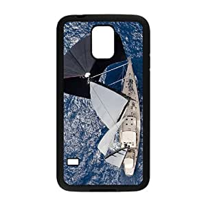 Beautiful Sailboat Rudders Custom Cover Case with Hard Shell Protection for SamSung Galaxy S5 I9600 Case lxa#401712