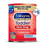 Enfagrow PREMIUM Next Step Toddler Milk Drink Powder, Natural Milk Flavor, 32 Ounce (Pack of 6), Omega 3