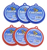 Molor Pet Food Can Covers, Set of 6, My Pet Supplies