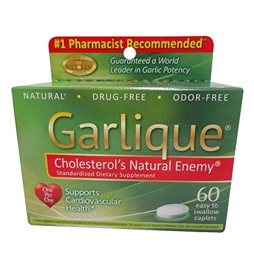 Garlique Caplets 60 Tablets (Pack of 3) For Sale
